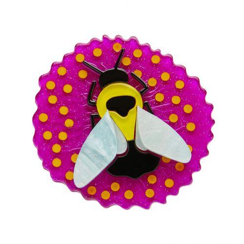 Bumblebee Burrower Brooch Erstwilder