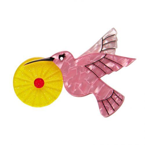 The Humble Hummingbird Brooch