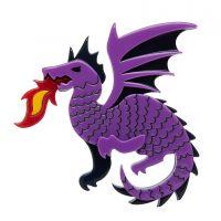 Reign of Fire Brooch
