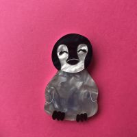Appy the Penguin brooch