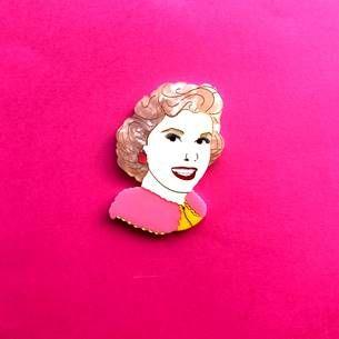 Doris Day Pillow Talk brooch