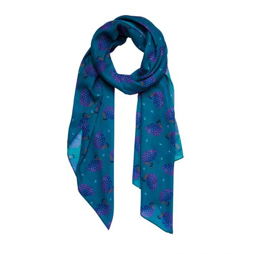 Le Peacock Royal Large Neck Scarf