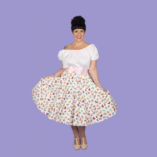 Pre-order: Butterfly circle skirt