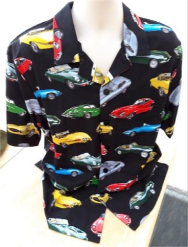 E type jaguars Men's casual shirt - only two left!