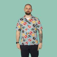 Retro Records Men's casual shirt