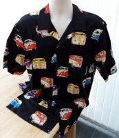 Campervans men's casual shirt (black)