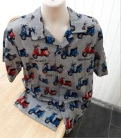 Vespa scooters themed Men's casual shirt
