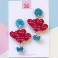 Bunch 'O' Self Love Drop earrings