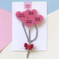 PRE-ORDER; Bunch 'O' Self Love Dangle earrings
