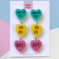 Candy Heart Dangles