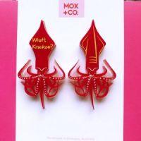 PRE-ORDER; What's Kraken stud earrings