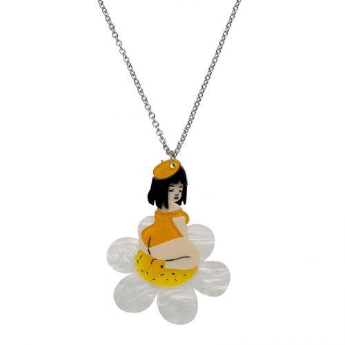 Sweet Marguerite Necklace