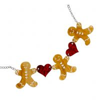 Christmas Bakery necklace