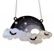 Midnight Rainbow necklace