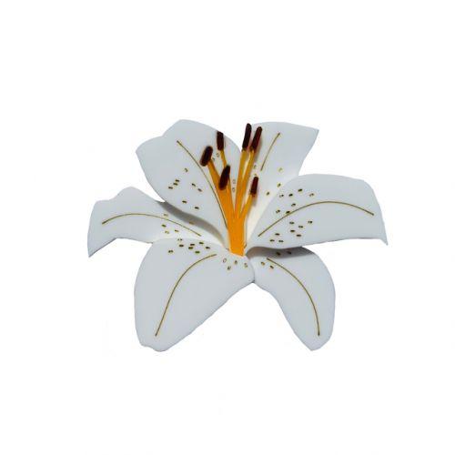 Lily brooch