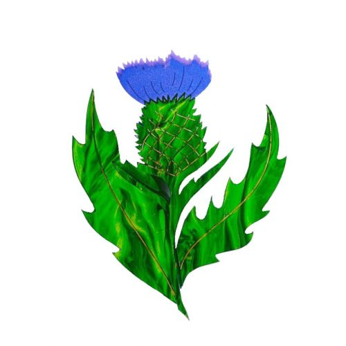 Thistle brooch