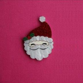 Pre-order: Santa Claus brooch