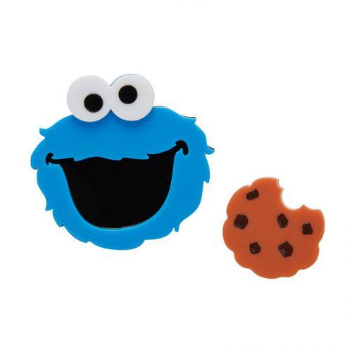 Cookie Monster Brooch Erstwilder