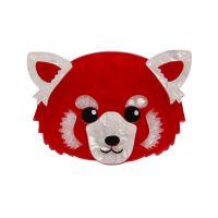 Lesser Rusty Red Panda Brooch Erstwilder