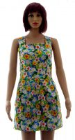 Tropical flowers playsuit